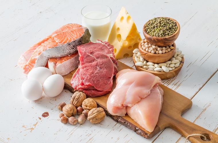 たんぱく質の摂取できる食品