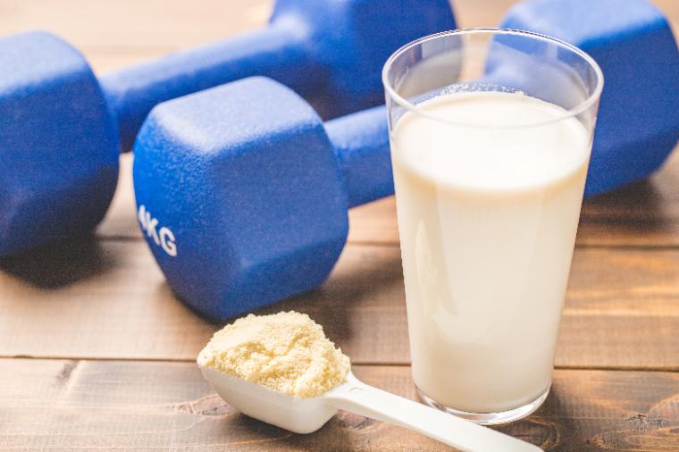 Muscle training food